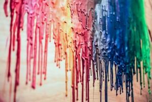 DIY: Tableau crayons à l'huile fondus dans DIY 57640002-1024x691-300x202