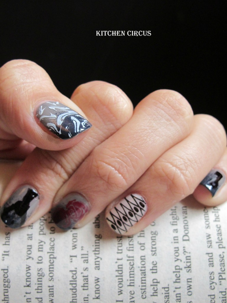 Coté Ongles: The Sunday Nail Battle, Fifty shades of grey dans Côté Ongles img_3562