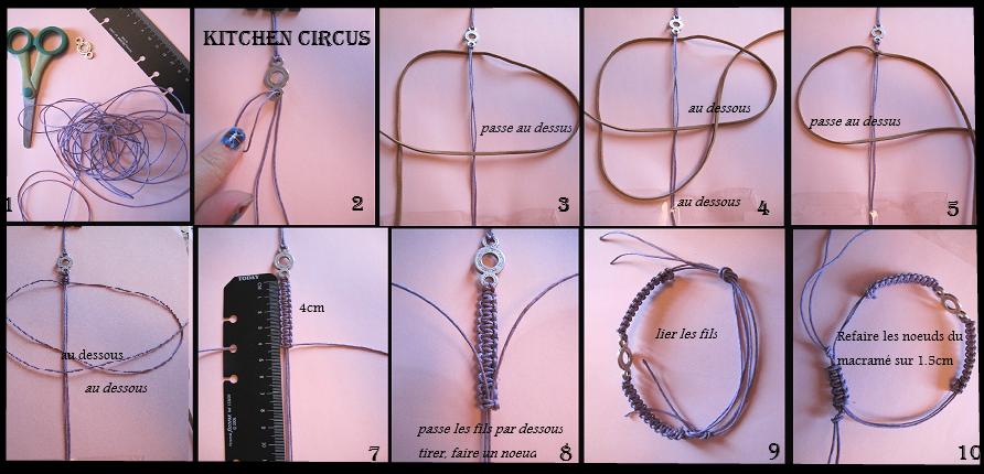 bracelet dans DIY