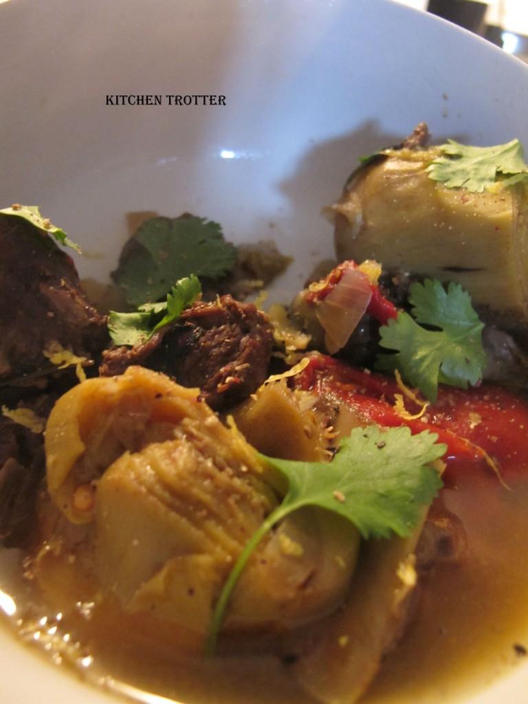 Kitchen: Ragoût express de boeuf, artichaut et pimentos. dans Kitchen img_3546