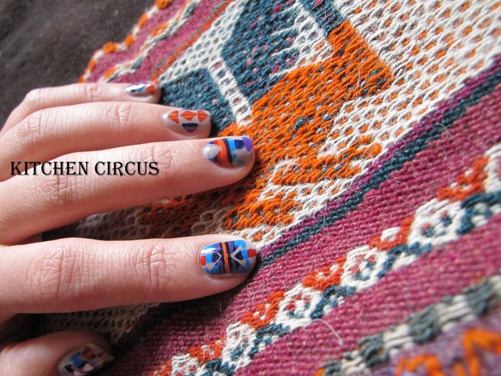 Coté Ongle: La Sunday Nail Battle, le poncho nail dans Côté Ongles img_3618