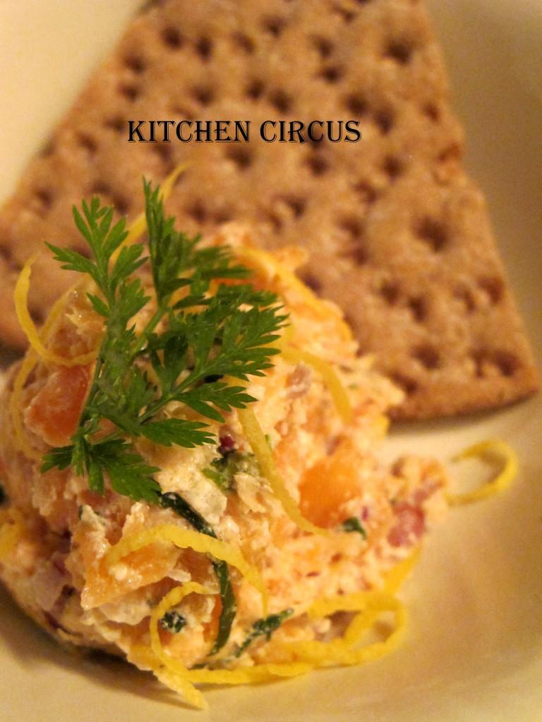 Kitchen: Le repas Nordique de Kitchen trotter! Terrine de saumon à l'aneth et Jambon glacé. dans Kitchen img_3754