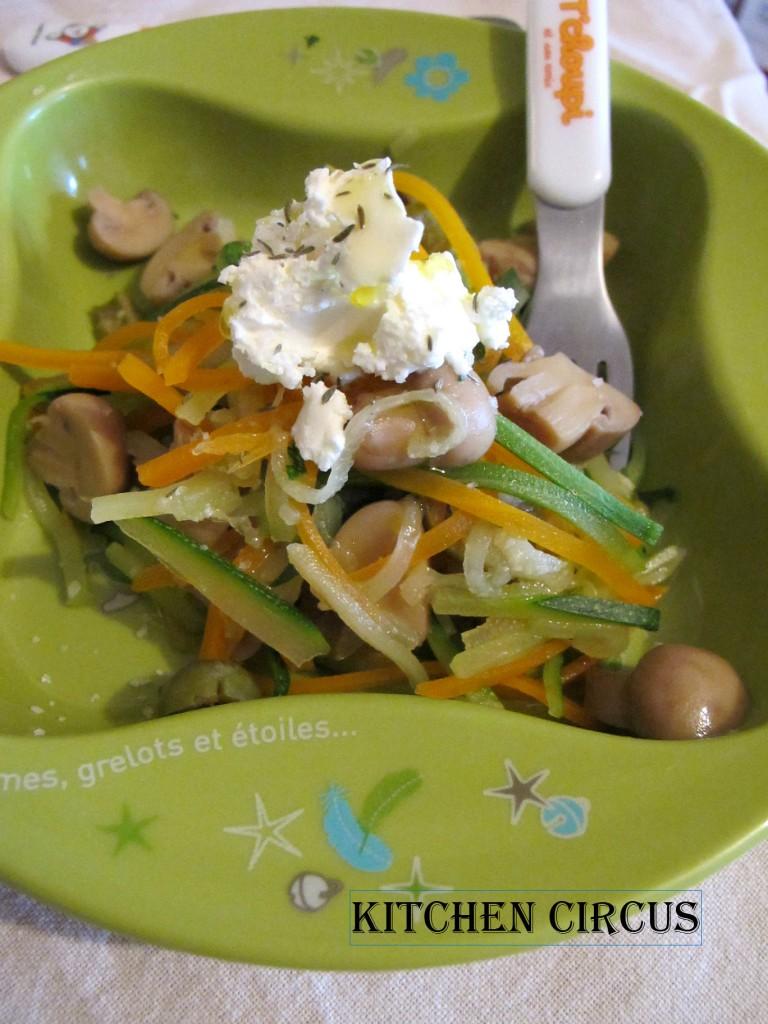 Légumes cachés: Les spaghettis de légumes! dans Légumes cachés img_3924